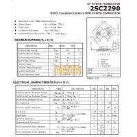 Końcówka mocy w.cz 2SC2290