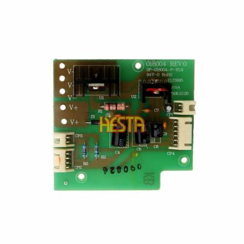 Control board for the Waeco CF25 refrigerator, Main PCB