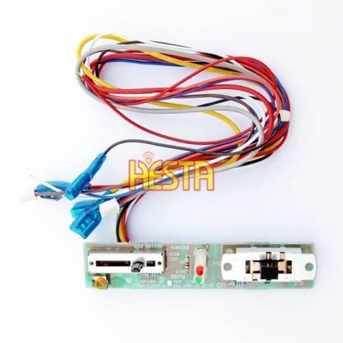 Płytka sterująca z włącznikiem + suwak termostatu do lodówki Waeco CDF35