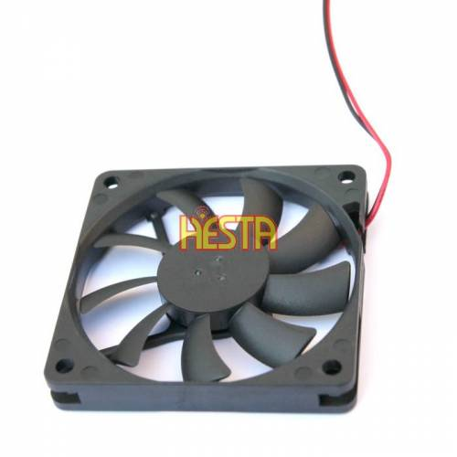 Blower fan for portable fridge Waeco, Dometic Coolmatic CF/ CDF 16, 25, 26 70x70mm