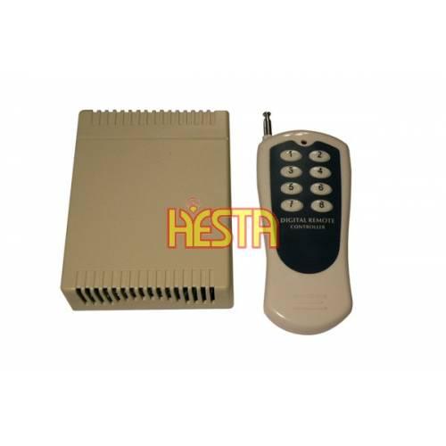 Zdalne sterowanie 8 kanałowe - radiowe 24V