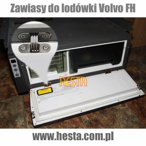 Zawiasy do lodówki samochodowej Volvo FH