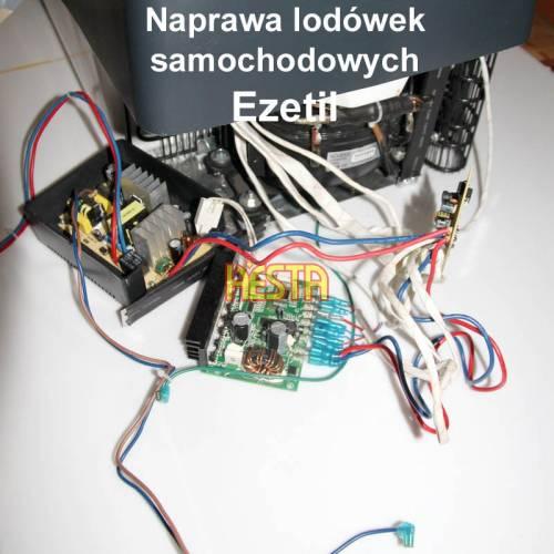 Naprawa elektroniki w lodówce samochodowj Ezetil
