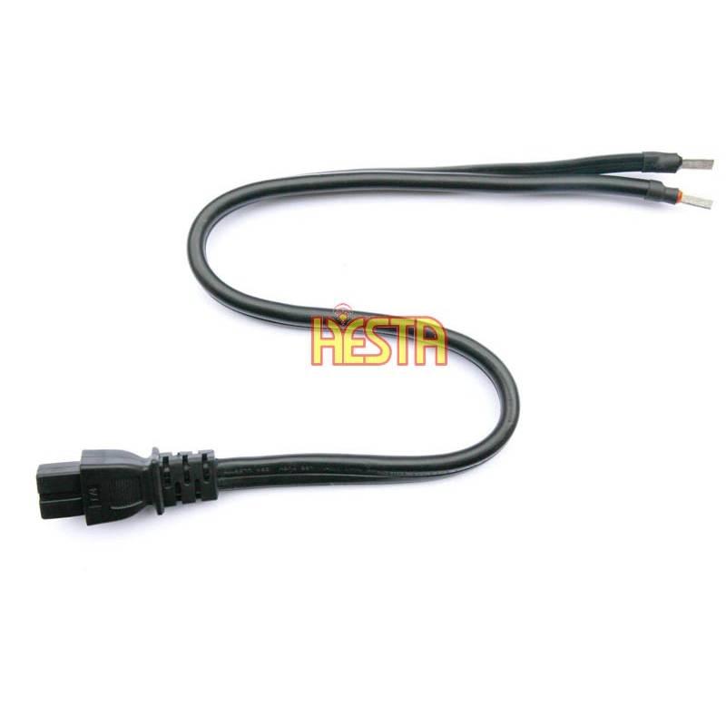 KFZ Auto 2 Pin Anschlusskabel Ersatzkable Stecker 12//24V Für Kühlbox Kühlschrank
