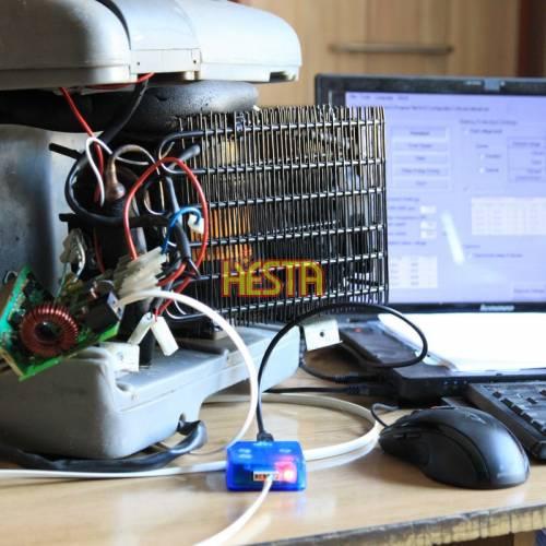 Diagnostyka komputerowa, programowanie sterowania sprężarki lodówki 12v 24v 42v