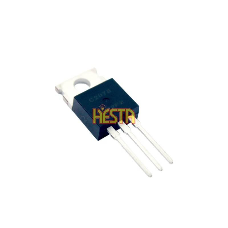 Końcówka mocy w.cz tranzystor 2SC2078 wzm.E