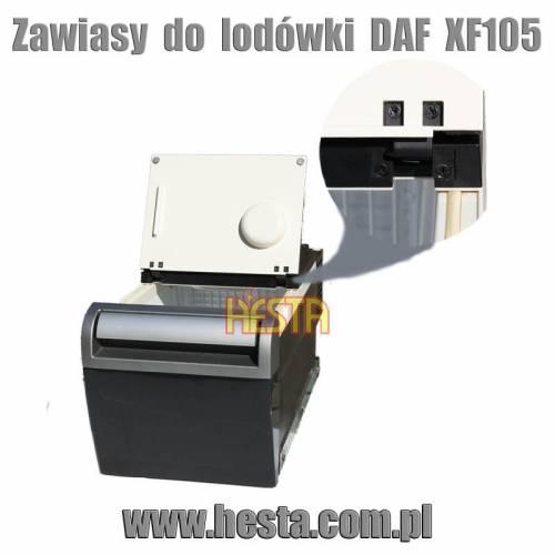 Zawiasy do lodówki samochodowej Daf XF 105