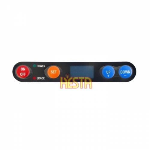 Autocollant pour tableau de commande numérique DIGITAL pour réfrigérateur Waeco CF Ver. B