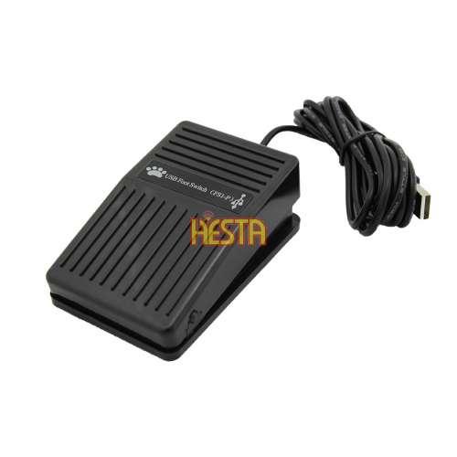 FS-1 USB Single Foot Switch Pedal – plastic