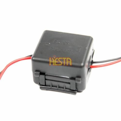 Filtr przeciwzakłóceniowy zasilania radia CB samochodowego