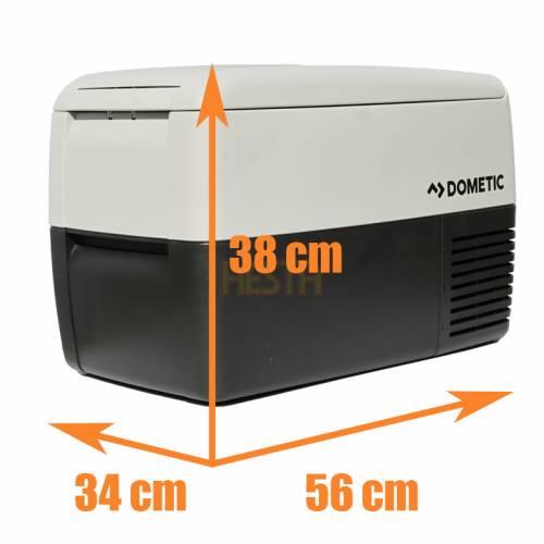 Lodówka samochodowa DOMETIC CoolFreeze CDF 36 - wymiary