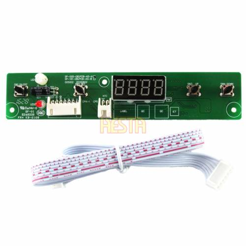 ЦИФРОВАЯ панель управления, верхняя для Waeco CF35, CF40, CF50, CF80, CF110 Ver. В