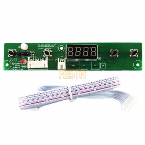 Panneau de commande numérique haut pour réfrigérateur Waeco CF35, CF40, CF50, CF80, CF110 Ver. B