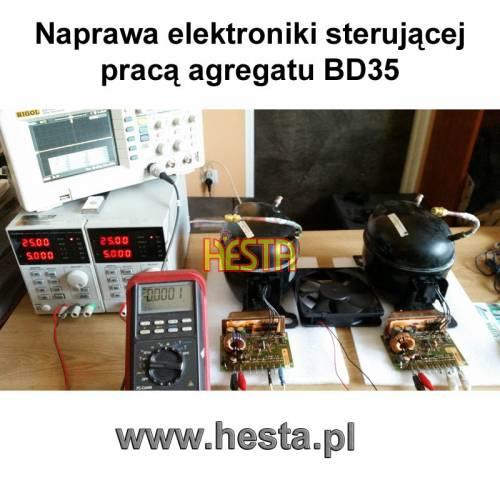 Naprawa elektroniki sterującej pracą agregatu BD35