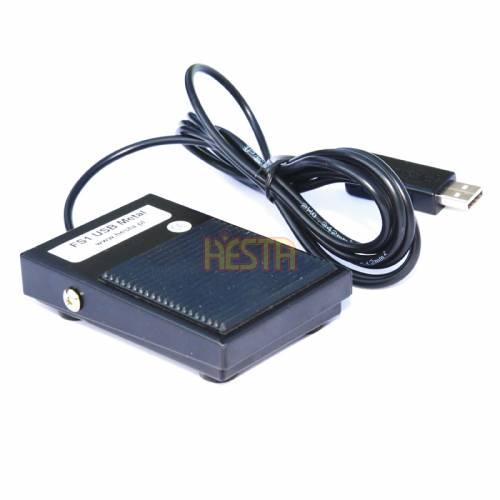 FS-1 USB Single Foot Switch Pedal – metal