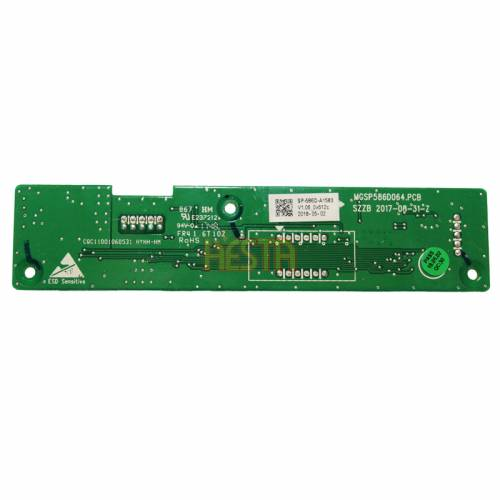Electronic panel, board for setting temperature control for fridge Man 81.63910.6109