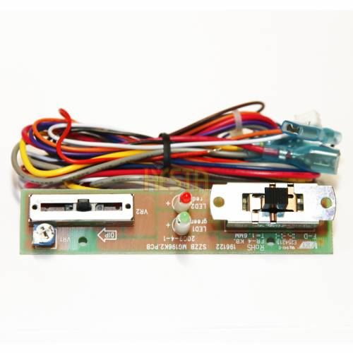 Temperature control PCB for Waeco CDF 25 Slide adjustment type