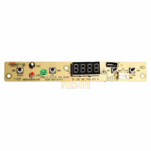 Panel sterjący elektroniczny, górny do lodówki Waeco CFX35, CFX40, CFX50, CFX65