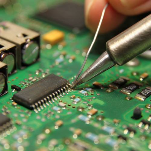 Electronics service, repair of electronic devices