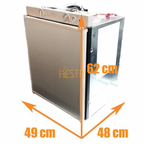 Built-in under-counter absorption refrigerator DOMETIC RM5310 for 12V 230V gas