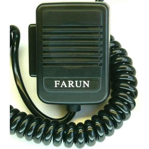 Microphone, mike Farun 4-pin plug. Compatible with CB radio Uniden Alan