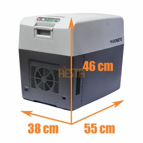 Portable mobile cooler DOMETIC TropiCool TC 35 refrigerator 33L 12/24/230V