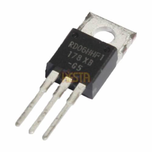 Mitsubishi RD06HHF1 транзистор - Выходной каскад