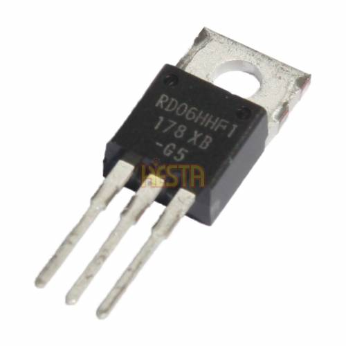 RD06HHF1 Mitsubishi Transistor - RF Power Amplifier