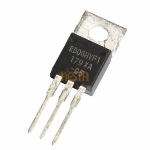 RD06HVF1 Mitsubishi Transistor - Amplificateur de puissance RF