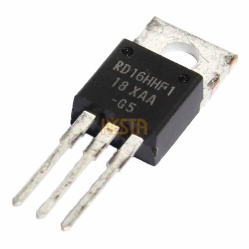 Транзистор Mitsubishi RD16HHF1 - Выходной каскад