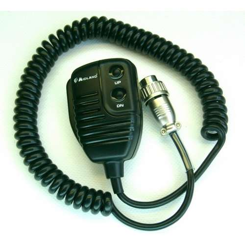 Oryginalny mikrofon gruszka MR-120 Midland do Alan48 / 78+ Multi 6pin