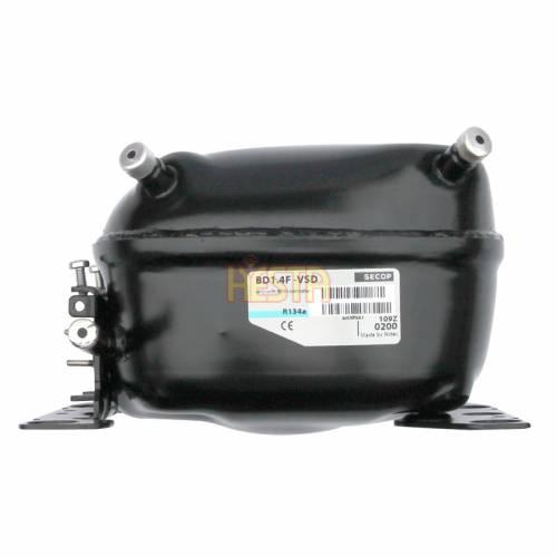 Secop BD1.4F-VSD Kompressor 109Z0200 Kolben portierbare Refreeze, Kühlschrank 12 / 24V DC (R134a)