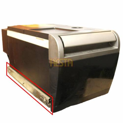 DAF XF 105/106 / Euro 6 правая боковая направляющая холодильника