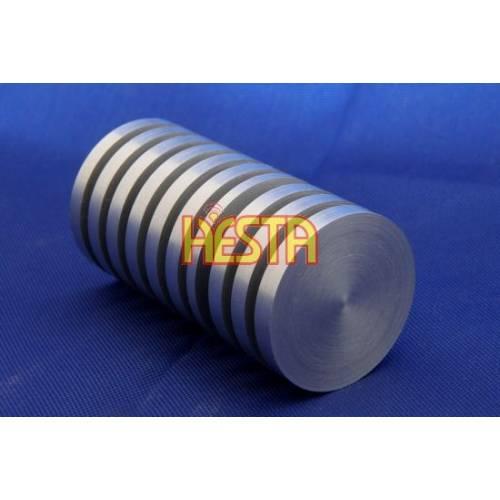 Radiator aluminiowy toczony LED - 3W