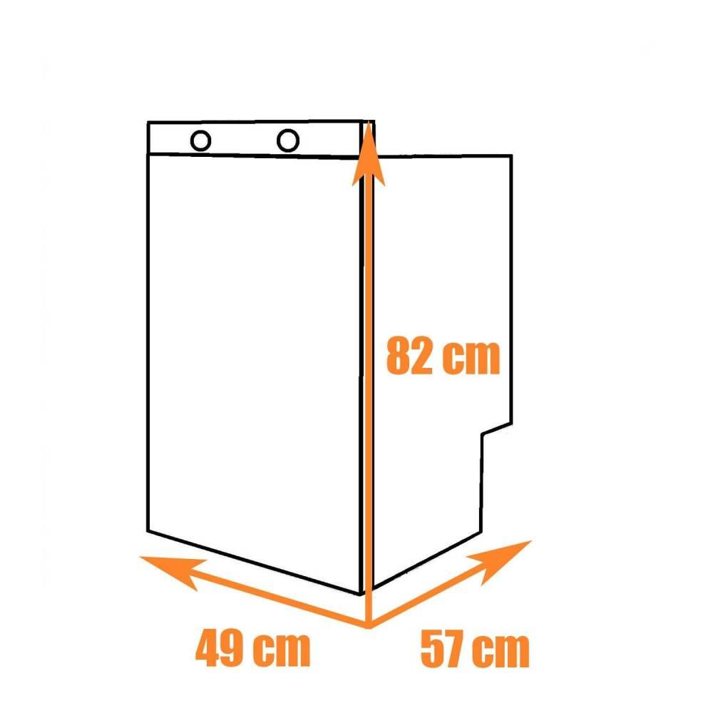 eingebauter absorptionskuehlschrank  dometic rms