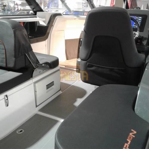 White DOMETIC CoolMatic CD 20W drawer fridge for caravan, yacht