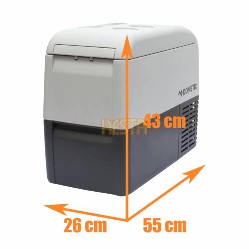 Lodówka samochodowa DOMETIC CoolFreeze CF 26 kompresorowa 12V 24V 240V