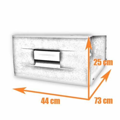 Silver DOMETIC CoolMatic CD 30S drawer fridge for caravan, yacht