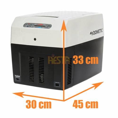 Portable mobile cooler DOMETIC TropiCool TCX14 refrigerator 14L 12/24/230V