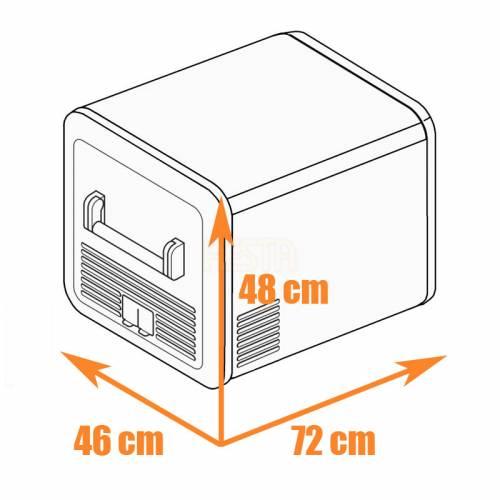 DOMETIC CFX3 55 Portable Compressor Fridge 12/24/240 V