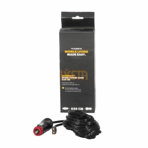 6,5m Câble d'alimentation 12V / 24V DC pour réfrigérateur portatif Dometic Waeco Tropicool TC