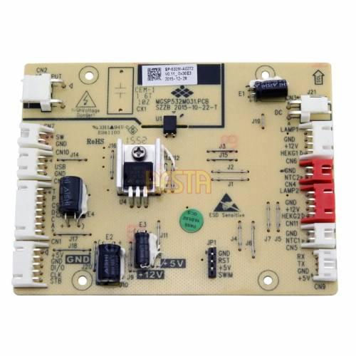 Płytka sterująca zasilaniem do lodówki Dometic / Waeco CFX 95 DZ, CFX 95 DZ2