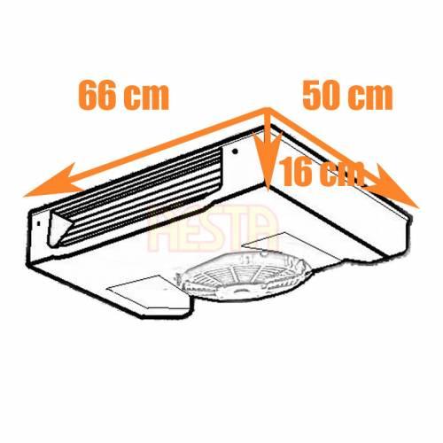 Испаритель Dometic 2500 для холодильной системы Frigo DC с хладагентом R134a