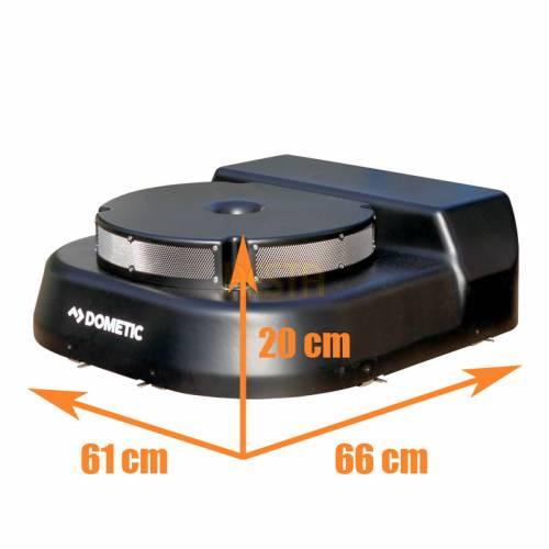 Компрессор и конденсатор Dometic Frigo DC-CCU для установки вместо запасного колеса