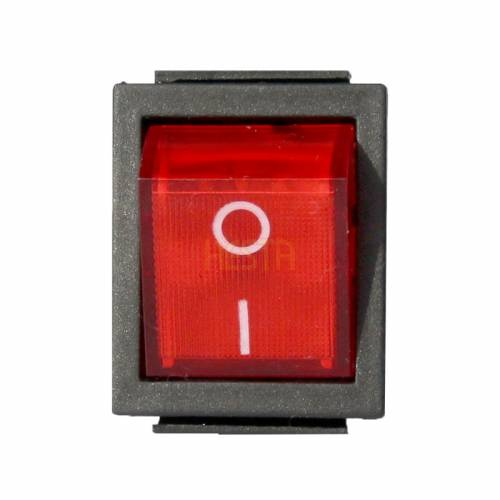 RED ON/OFF 230V switch for DOMETIC, ELECTROLUX absorption fridge
