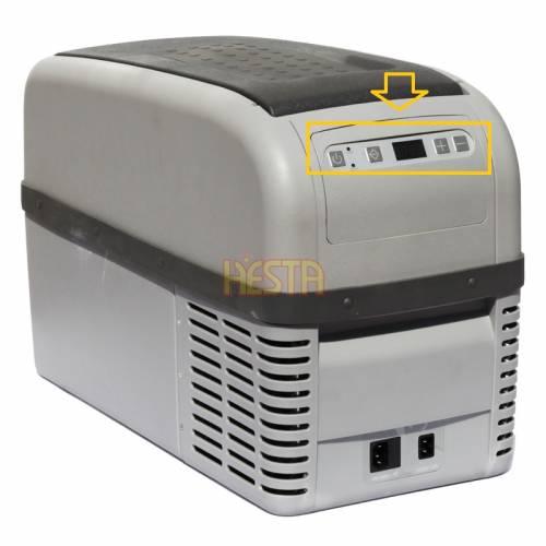 Sticker for digital control panel DOMETIC, WAECO CoolFreeze CF / CDF 16, 26 fridge