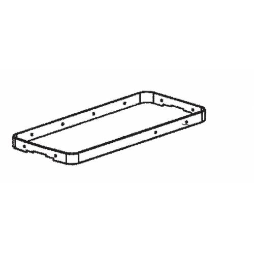 Frame bumper for Dometic CoolFreeze 16, 26 fridge