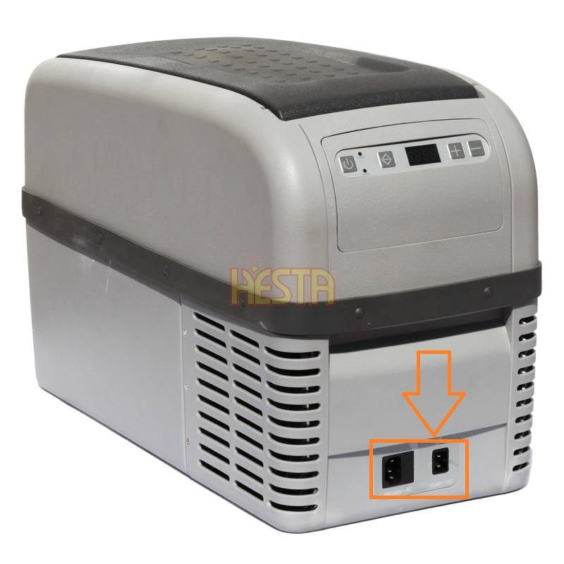12 / 230V socket sticker for Dometic Waeco CF16 / 26 car fridge