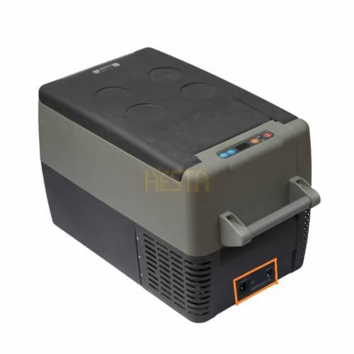 Autocollant pour prise 12 / 230V du réfrigérateur Dometic Waeco CF35