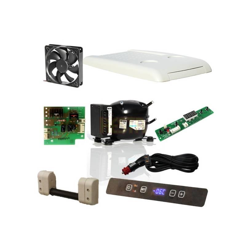 Rubber shock absorber for fridge fan Dometic Waeco CF, CDF, CRD